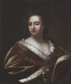 Queen Anne (1665–1714) in Garter Robes