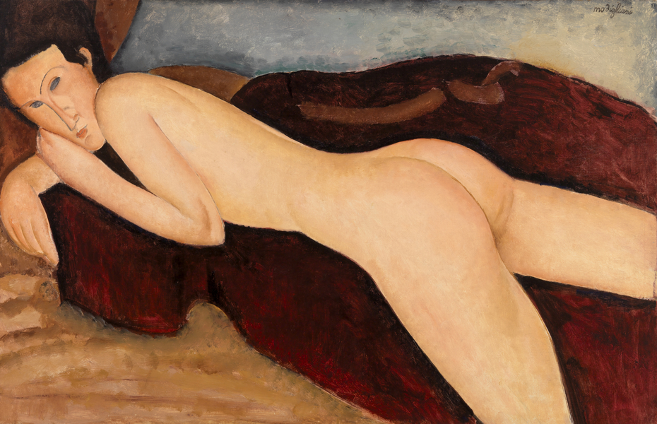 Reclining Nude from the Back