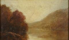 River Scene, Autumn