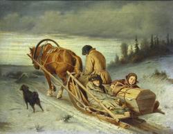 Rural funeral