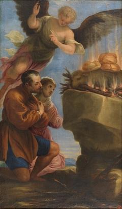 Sacrificio de los panes y el cordero