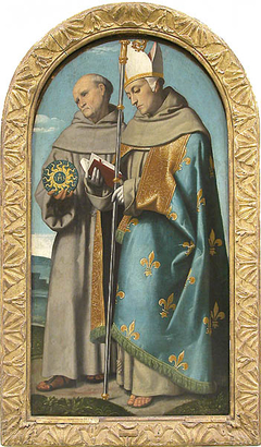 Saint Bernardino of Siena and Saint Louis of Toulouse