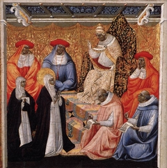 Saint Catherine before the Pope at Avignon