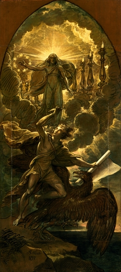Saint John the Evangelist Called to Write the Revelation