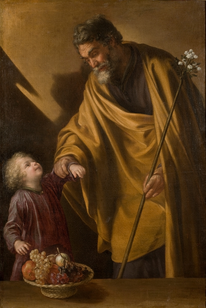 Saint Joseph with the Christ Child