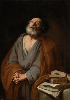 Saint Peter weeping
