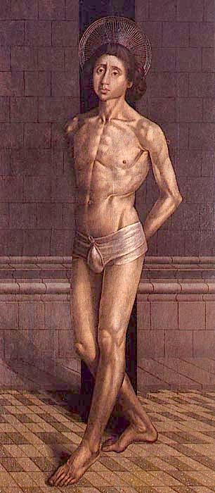 Saint Vincent Tied to a Column