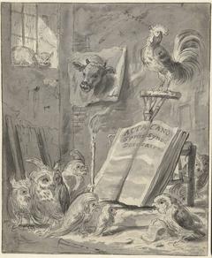 Satire op de Synode van Dordrecht, 1618