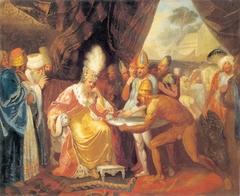 Scythian Messengers Meet the Persian King Darius I
