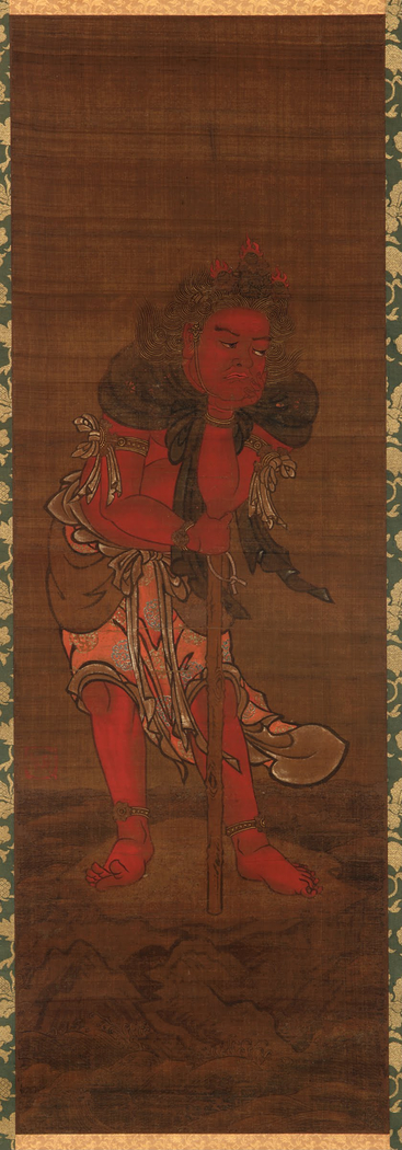Seitaka-doji, attendant to the Buddhist Deity, Fudo Myo-o