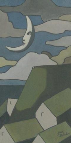 Serie Soles y Lunas. Sol y Luna II