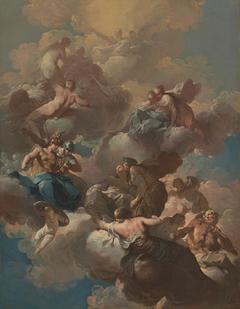 Sketch for a Ceiling Fresco