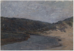 Sketch of a Sea Inlet