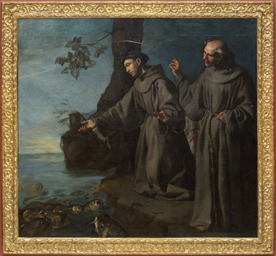 St. Anthony Preaching to the Fishes