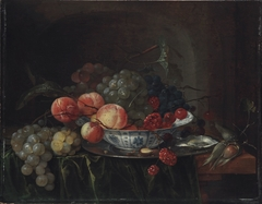 Still Life of Fruit in a Wan-Li Bowl
