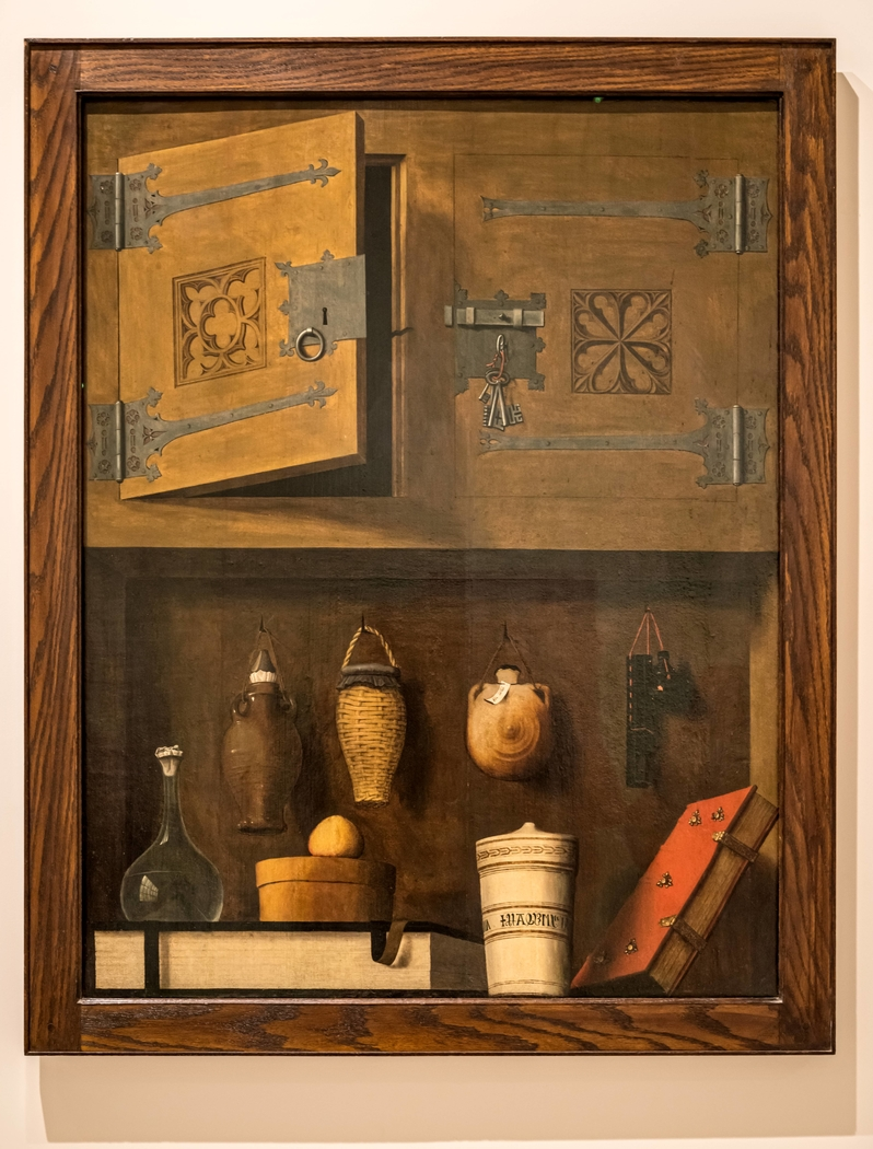 Still Life with Bottles and Books