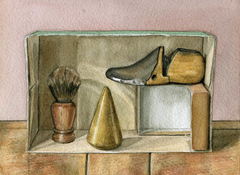 Still Life With Wooden Objects
