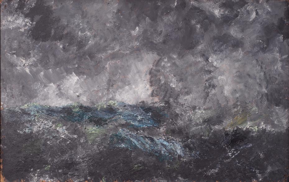 "Storm in the Skerries. ""The Flying Dutchman"""