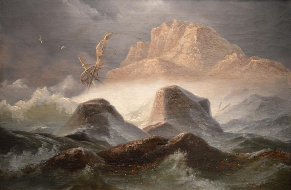 Storm on the Norwegian Coast