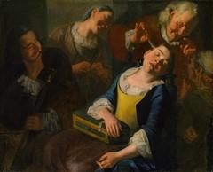 Teasing a Sleeping Girl