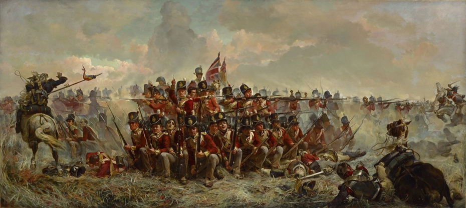 The 28th Regiment at Quatre Bras