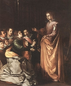 The Apparition of Saint Catherine to the Family of Saint Bonaventure