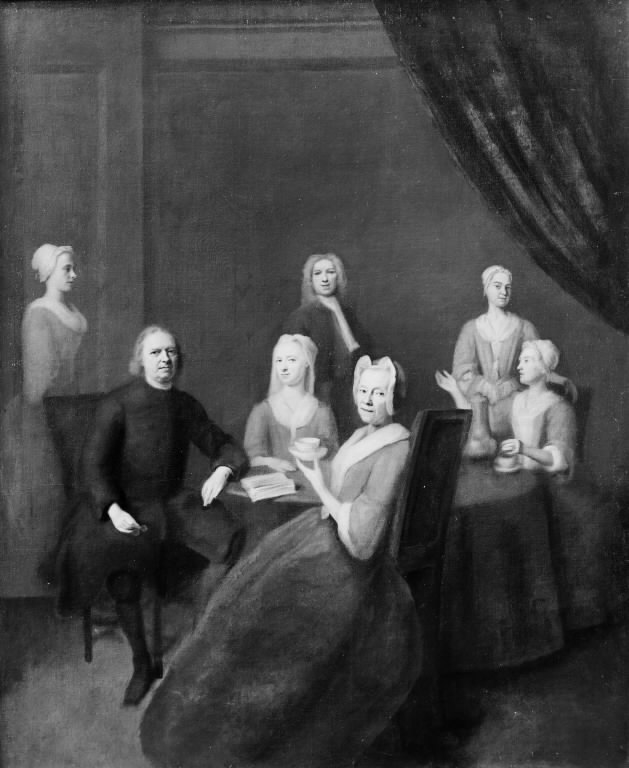 The Artist's Parents-in-Law and some of their Children