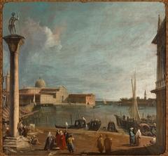 The Bacino di San Marco with the San Giorgio Maggiore