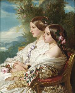 The cousins: Queen Victoria and Victoire, Duchesse de Nemours