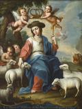 The Divine Shepherdess (La divina pastora)