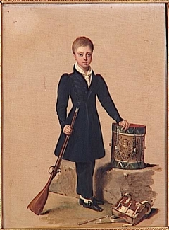 The Duke of Penthièvre as a child
