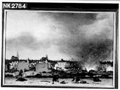 The explosion of the powder magazine in Delft