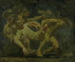 The Fight for the Corpse of Patroclus