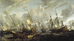 The Four Days' Battle, 1-4 June 1666