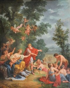 The Harvest or Ceres and Triptolemos