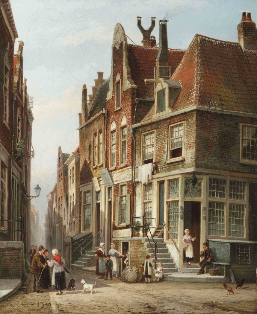 The Jewish Quarter, Amsterdam