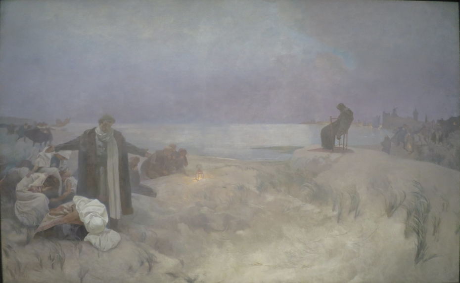 The Last days of Jan Amos Komenský in Naarden