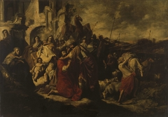 The Meeting between Jacob and Esau