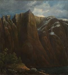 The Mountain Kallali in Lysefjorden