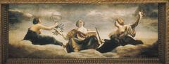 The Muses: Urania, Calliope and Melpomene