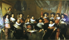 The Officers of the St Adrian Militia Company in 1642