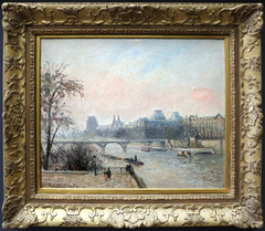 The Seine and Louvre