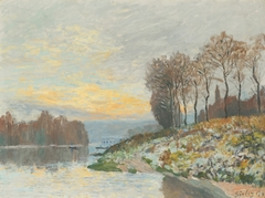 The Seine near Bougival, Winter Morning