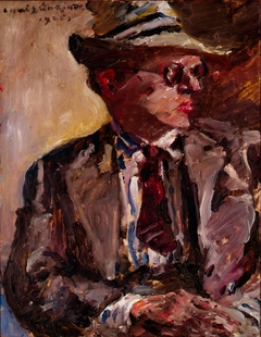 Thomas Corinth with Straw Hat