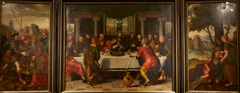 Triptych with Last Supper