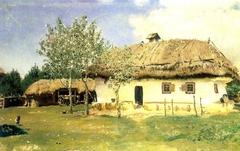 Ukrainian peasant house