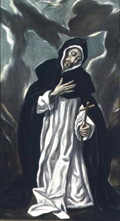 Saint Dominic praying