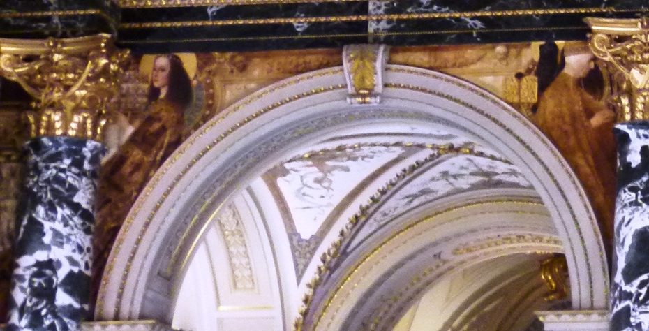 The Quattrocento in Rome and in Venice (Ceiling above the grand staircase, Kunsthistorisches Museum, Vienna)