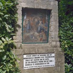 Vergeefse poging om het Mariabeeld te verbranden