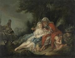 Vertumnus und Pomona (Kopie nach)